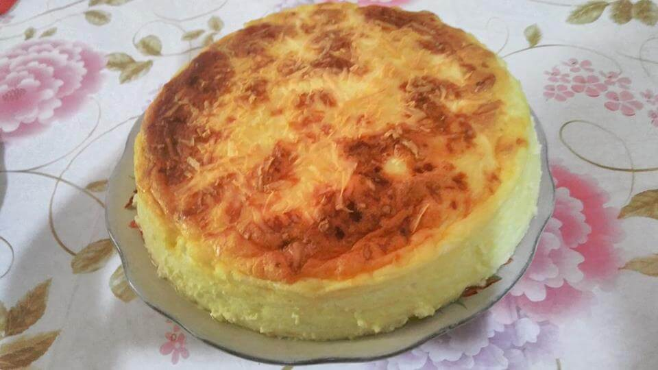 COTTON CHEESE CAKE ALA DHIAN OCHA