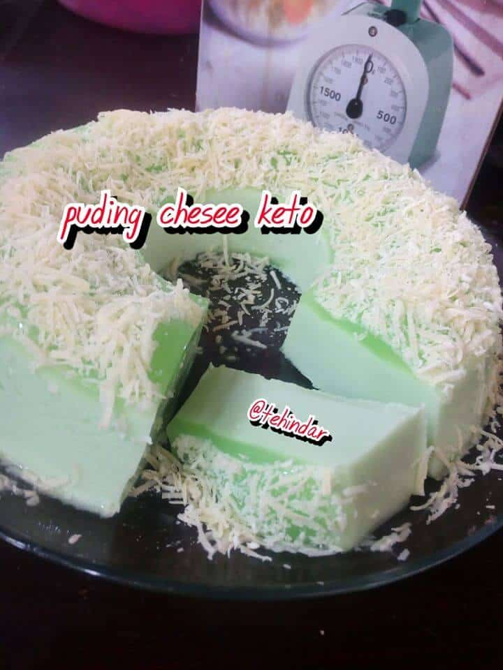 PUDING CHESEE KETO ALA TEH INDAR