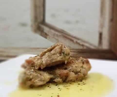 CHICKEN WITH GARLIC BUTTER SAUCE ALA IKO ICO