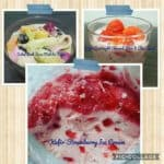 KEFIR STRAWBERY ICE CREAM ALA FENNY IRWAN