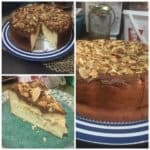 ALMOND CHEESE CAKE ALA DWI BURHAN