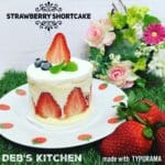 LOW CARB STRAWBERRY SHORTCAKE ALA DEBORA PRIHATNA