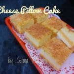 Cheese Pillow Cake Ala Octiva Chandra‎