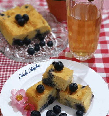 Blueberry Muffin ala Meilu Chandra