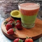 Avocado Strawberry Smoothie Ala Stefanie Mayke
