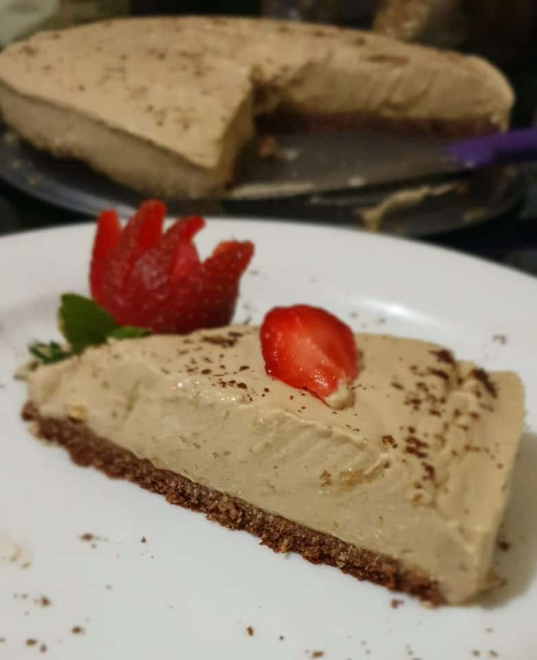 Coffee Cheese Pie Ala AtikMaya Sodikin