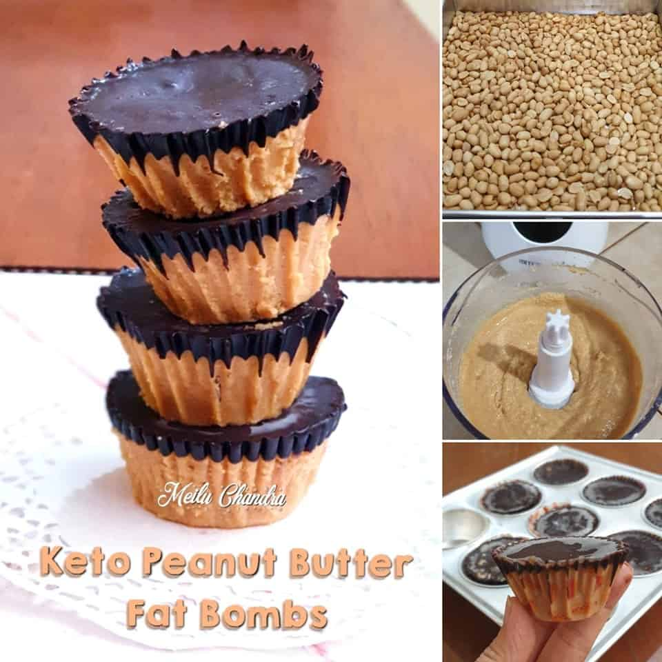 Keto Peanut Butter Fat Bombs Ala Meilu Chandra